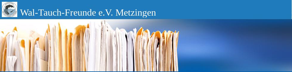 Wal-Tauch-Freunde e.V. Metzingen